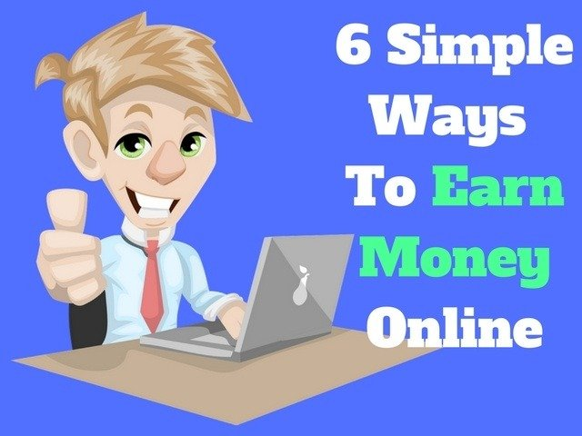 ways to earn money from home online