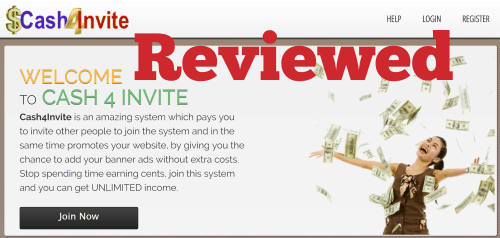 Cash For Invite Review