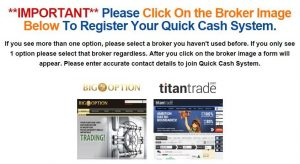 Quick Cash System Brokers