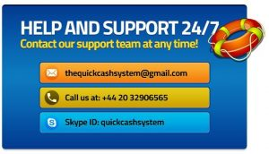 Quick Cash System Support